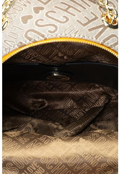 Love Moschino Rucsac mic cu garnituri de piele ecologica Femei