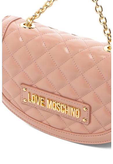 Love Moschino Чанта от еко кожа с капитониран дизайн Жени