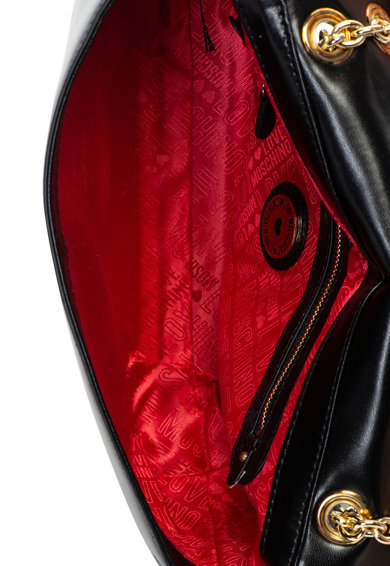 Love Moschino Műbőr válltáska steppelt hatással női