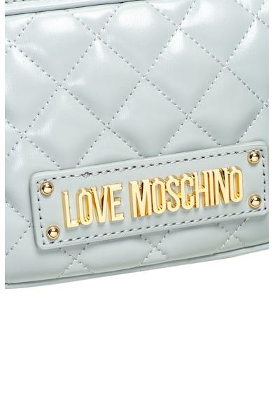 Love Moschino Малка раница от еко кожа с капитониран дизайн Жени