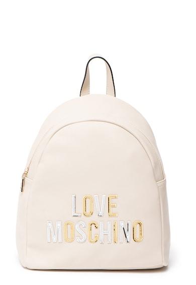 Love Moschino Műbőr hátizsák kétoldalú flitteres pántokkal női
