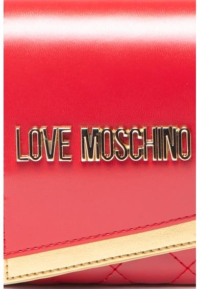 Love Moschino Чанта от еко кожа с капитониран ефект Жени
