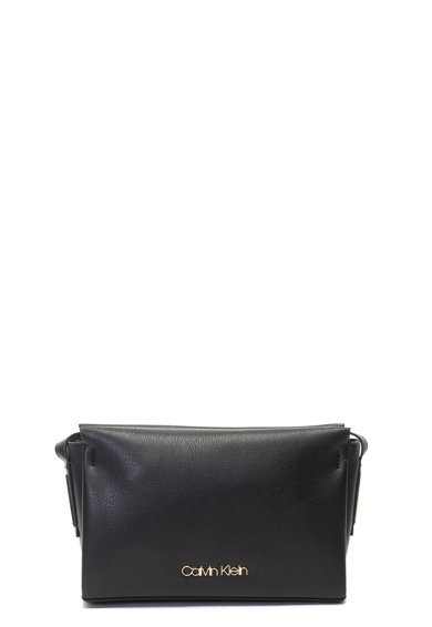Calvin Klein Чанта от еко кожа с лого Жени