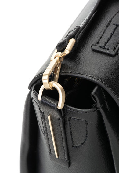 Calvin Klein Geanta de mana, de piele ecologica, cu bareta detasabila Femei