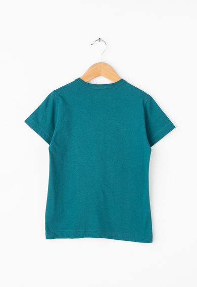 United Colors of Benetton Tricou cu imprimeu grafic si paiete reversibile Baieti