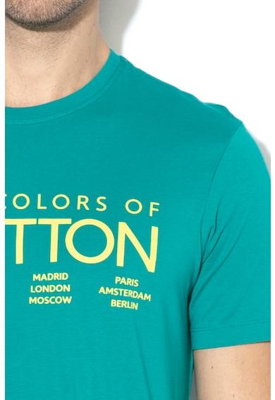 United Colors of Benetton Tricou cu imprimeu logo 1 Barbati