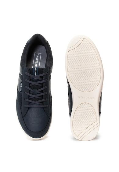 Jack&Jones Pantofi sport de piele ecologica si plasa Byson Barbati