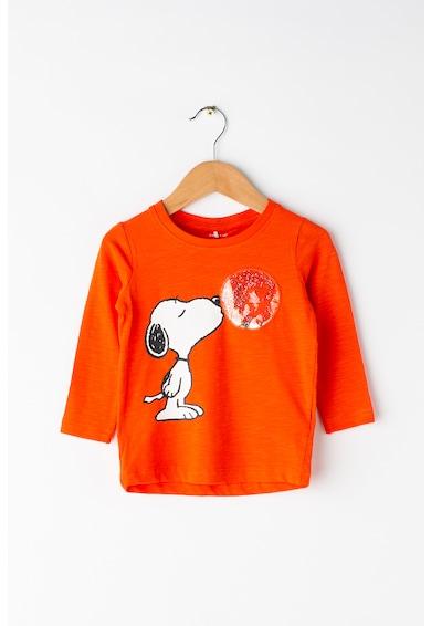 NAME IT Bluza de bumbac organic Snoopy Baieti