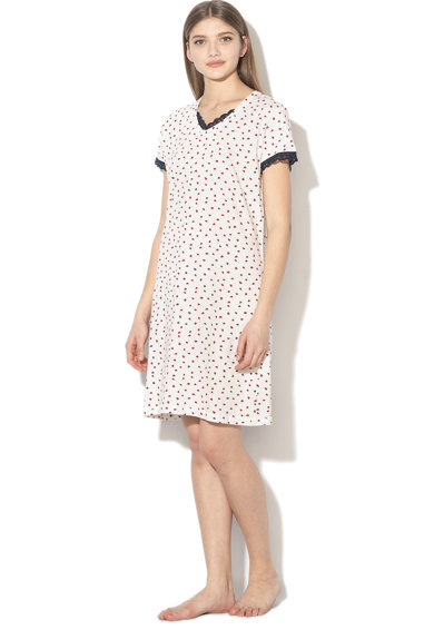 ESPRIT Bodywear Camasa de noapte cu model buburuza si buline Loulou Femei