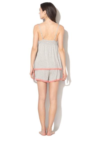ESPRIT Bodywear Pijama cu insertii de dantela Becky Femei