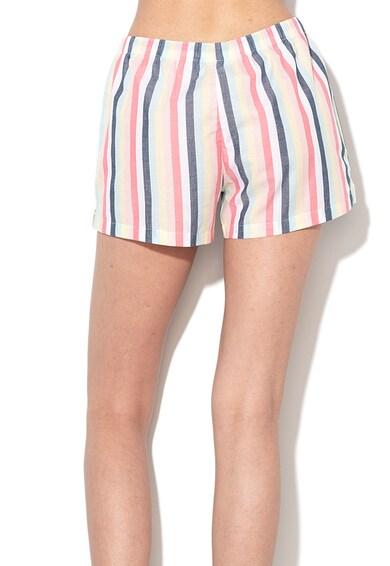 ESPRIT Bodywear Pijama cu pantaloni scurti si model in dungi Femei
