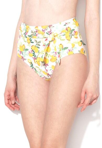 ESPRIT Bodywear Slip cu imprimeu cu fructe si talie inalta Panama Femei