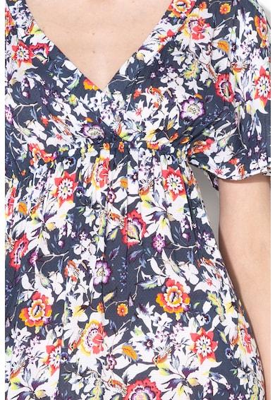 ESPRIT Bodywear Rochie maxi de plaja cu imprimeu floral Femei