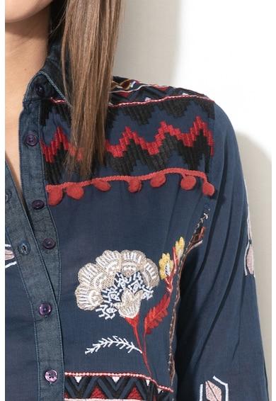DESIGUAL Camasa cu broderii Peru Femei