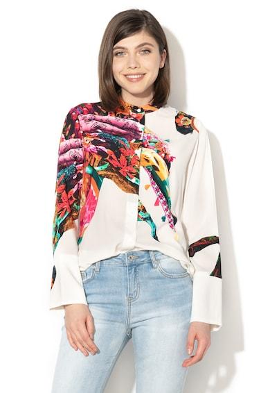 DESIGUAL Camasa cu model abstract Phokara Femei