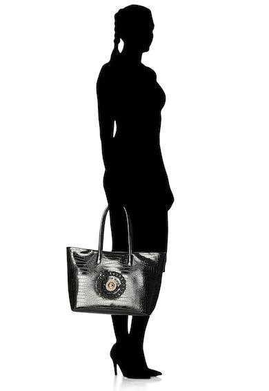 Versace Jeans Чанта Linea R от еко кожа с шагрен Жени