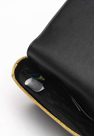 Versace Jeans Linea 2 műbőr keresztpántos táska fémlogós rátéttel női