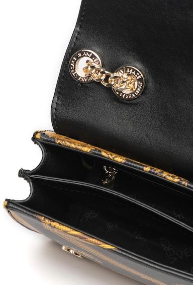Versace Jeans Linea K mintás keresztpántos táska láncos pánttal női