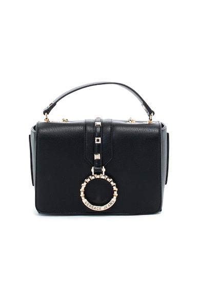 Versace Jeans Keresztpántos műbőr táska fémrészletekkel női