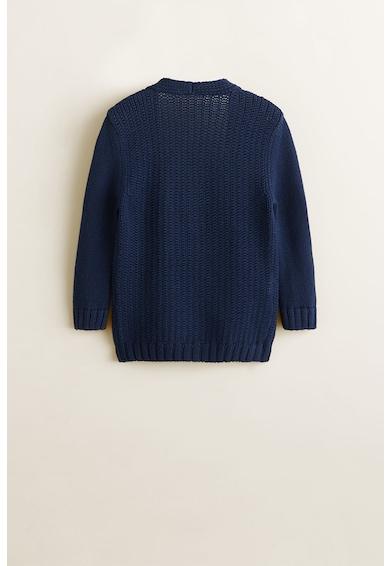 Mango Cardigan din tricot cu buzunare laterale Class Fete