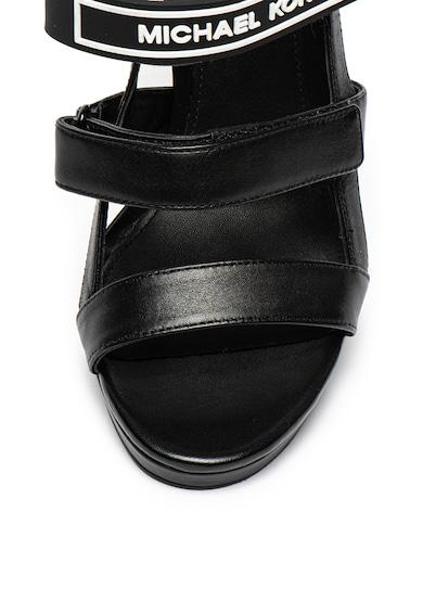 Michael Kors Кожени сандали Demi с лого Жени