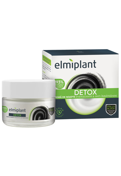 Elmiplant Crema de noapte pentru fata  Detox, 50 ml Femei