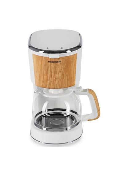 Heinner Cafetiera  , 900 W, 1.25 L, filtru detasabil, anti-picurare, oprire automata, Alb Femei