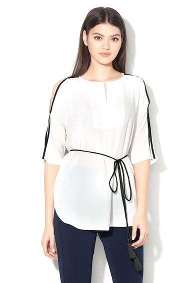 Pennyblack Блуза Falcata с коприна и отвори на раменете Жени