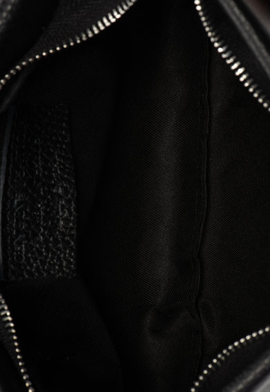Classeregina Geanta crossbody de piele cu bareta din lant Femei