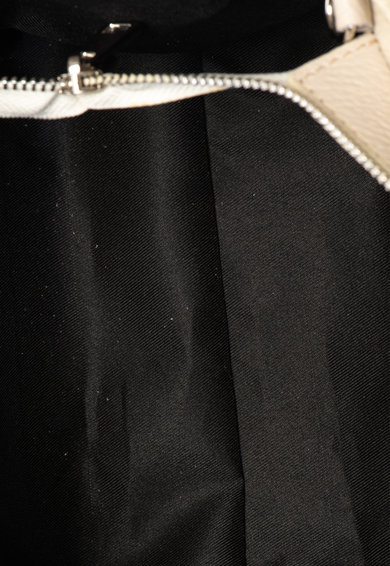 Classeregina Geanta de piele, cu bareta pentru umar si detaliu cu funda Femei