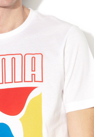 Puma Graphic Box logómintás póló férfi