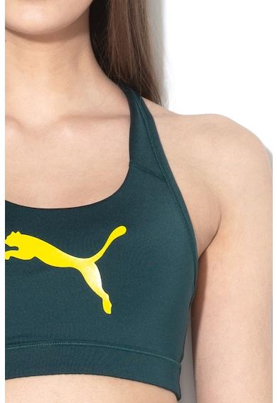 Puma Bustiera cu logo reflectorizant, pentru fitness 4Keeps Femei