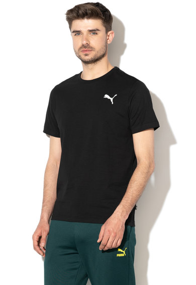 Puma Tricou regular fit cu imprimeu logo Essentials D Barbati
