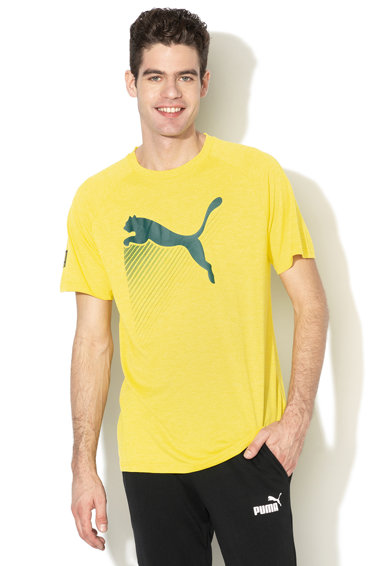 Puma Тениска CAT с лого и Dry Cell Мъже