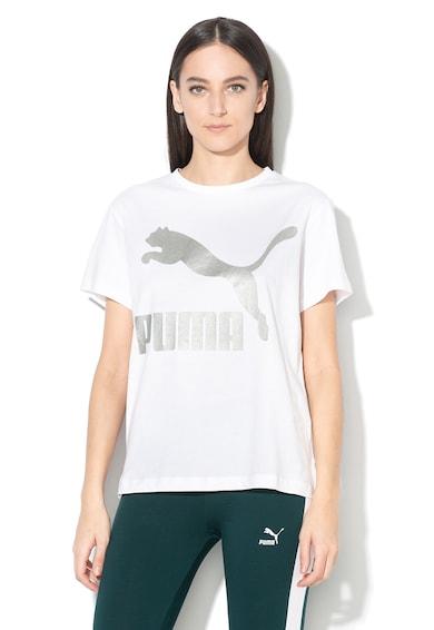 Puma Tricou cu imprimeu logo, pentru fitness Femei