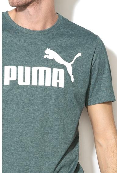 Puma Tricou regular fit cu imprimeu logo Essentials Heather Barbati