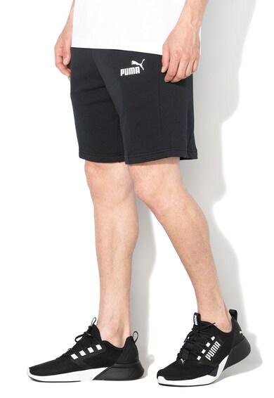 Puma Bermude cu imprimeu logo, pentru fitness Amplified Barbati