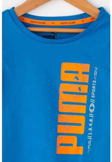 Puma Tricou sport cu imprimeu logo si DryCell Active Baieti