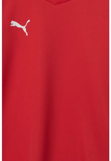 Puma Tricou cu decolteu in V, pentru fotbal dryCELL Liga Baieti