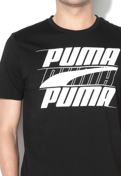 Puma Tricou regular fit cu imprimeu logo Rebel 2 Barbati