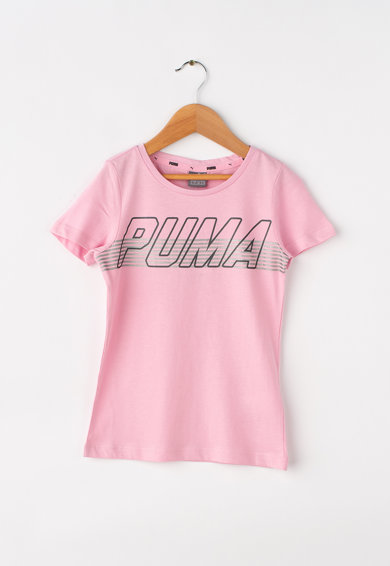 Puma Tricou regular fit cu imprimeu logo Alpha Fete