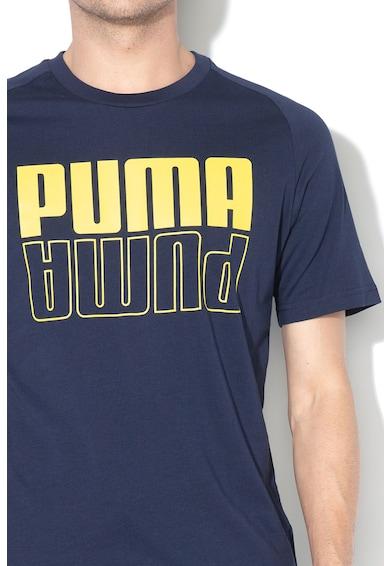 Puma Tricou regular fit cu imprimeu logo si Dry Cell Modern Barbati