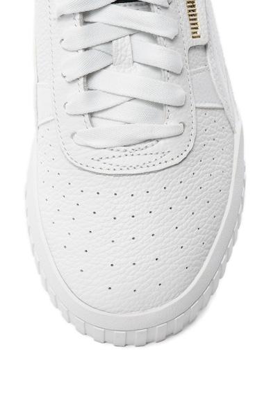 Puma Pantofi sport de piele cu striatii din material sintetic Cali Femei
