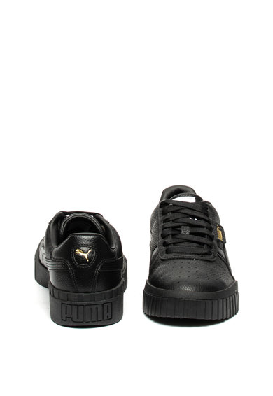 Puma Кожени спортни обувки Cali с елементи от еко кожа Жени