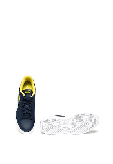 Puma Кожени спортни обувки Smash V2 с детайли от еко кожа Жени