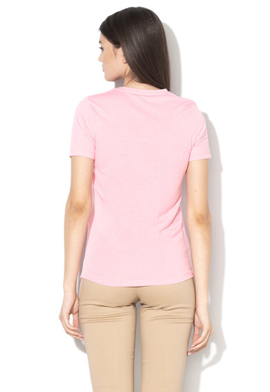 Only Lina regular fit póló gumis mintával női