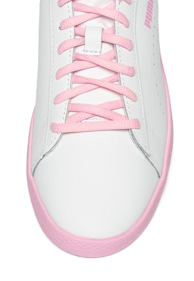 Puma Кожени спортни обувки Smash v2 Жени