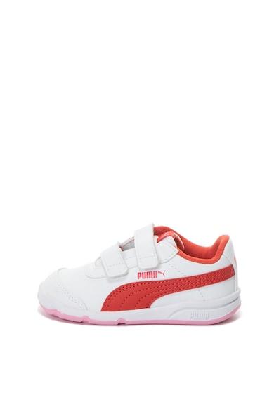 Puma СПортни обувки Stepfleex 2 от еко кожа с велкро Момичета