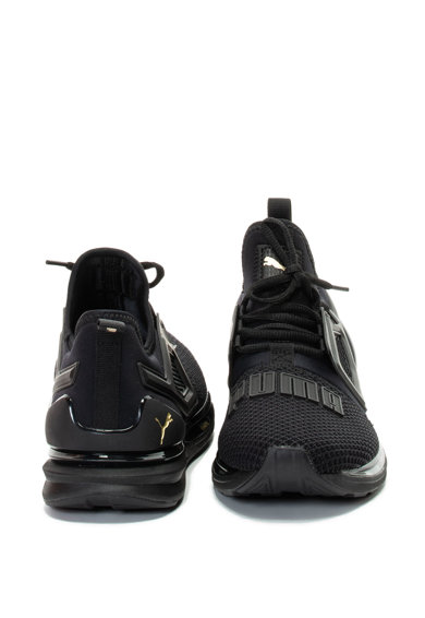 Puma Pantofi sport cu detalii din tricot, pentru alergare Ignite Limitles Barbati