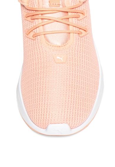 Puma Pantofi usori din plasa cu aspect tricotat, pentru alergare Radiate XT Femei